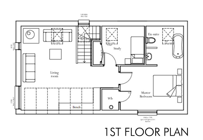 house plans first floor house our self build story